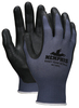 MCR Safety 9673SFS, Foam 13 Gauge Nylon, Sandy Nitrile Foam Palm & Fingers, S (12pr)