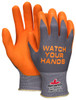 MCR Safety 96790HVIS, 15 Gauge Nylon BNF w/ NFT® Coating on palm & fingers, S (12pr)