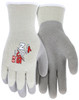 MCR Safety 9690M, FlexTherm®, 10 Gauge gray shell, latex palm & fingers, M (12pr)