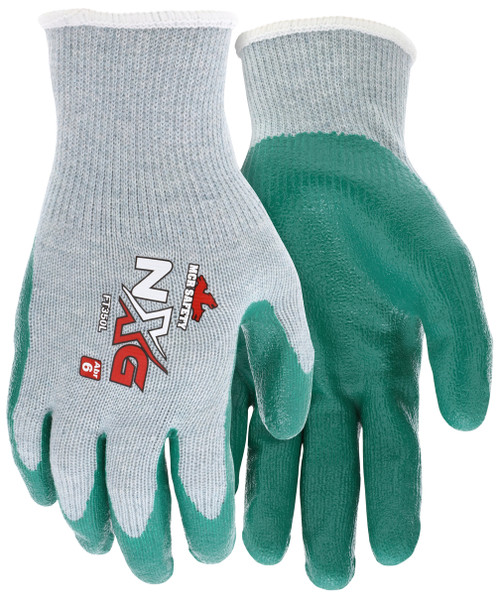 MCR Safety FT350S, FlexTuff® Nitrile 10 Gauge cotton/polyester, Nitrile dipped palm and fingers, S