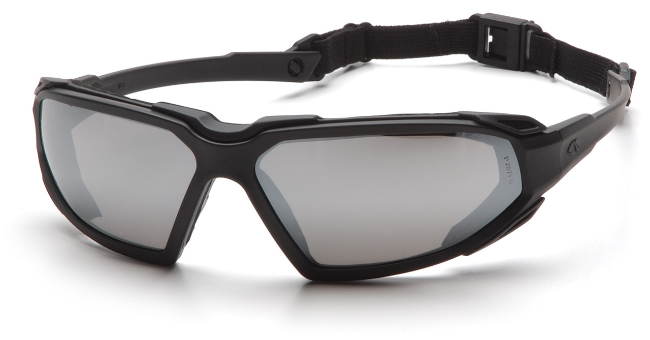 Pyramex Highlander Black Clear Anti Fog Safety Glasses Goggles SBB5010DT