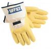 Memphis 6820 Tufftex Rubber Crinkle Finish Canvas Lining Men's Gloves, Size Large