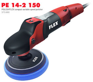 Flex PE 14-2 150 - Polishflex Compact Variable Speed Polisher