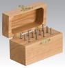 Dynabrade 93381 - Carbide Burr 12-Piece Burr Kit 3 mm Shaft