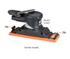"""Dynabrade 57460 - 2-3/4"""" W x 8"""" L Non-Vacuum Dynaline Disc Pad with Clips"""