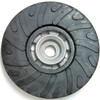 "Dynabrade 50281 4-1/2"" Disc Pad Spiral-Face Rubber Medium Density 5/8""-11"