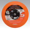 "Dynabrade 56195 5"" Non-Vacuum Disc Pad Hook-Face Short Nap 5/8"" Thickness"