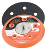 "Dynabrade 56186 - 5"" (127 mm) Dia. Vacuum Disc Pad  Vinyl-Face 5/8"" (16 mm) Thickness Urethane  Soft Density  5/16""-24 Male Thread"
