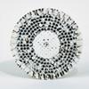 "Dynabrade 50695 - 5"" (127mm) Dia. Vacuum Disc Pad Vinyl-Face 1/2"" (13mm) Thickness Rubber Post Pattern Medium Density 5/16""-24 Male Thread"