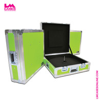 ATA Cymbal Vault Shown In Lime Green ABS