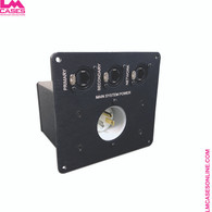 Dante/Network Power Inlet Box