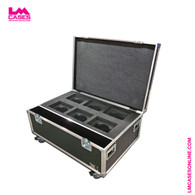 Chauvet Rogue R1 Wash Case - 6 Capacity