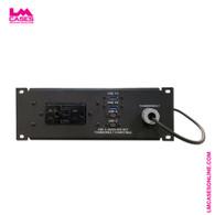 2RU Half Rack Width Thunderbolt & USB Desktop IO Panel