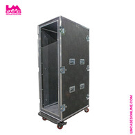 "36 Space Portable Network Server Rack - 36"" Deep"