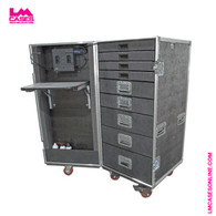 Mobile Technicians Tool Box w/Integrated Power & Task Lighting