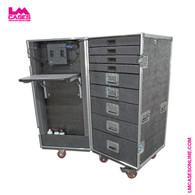 Mobile Technicians Tool Box w/Integrated Power & Task Lighting