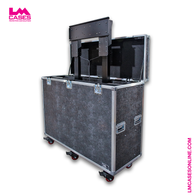 Generic Large Format Monitor Lift Flight Case