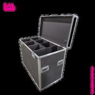 Elation CW Profile HP Light Fixture Flight Case - 6 Capacity