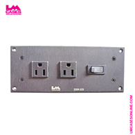 DSK-ES Switched Courtesy Outlet Panel w/Edison & True1 Connectors