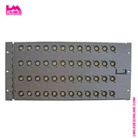 48 Point Hinged Rack Mount SDI Patch Panel