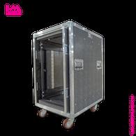 16 Space Pocket Door Amp Rack