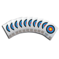 12 PACK OF 40CM SINGLE SPOT TARGETS