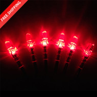 SUMMIT LIGHTED S SWITCH NOCKS - RED (3 PACK)
