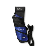 Summit Deluxe Field Quiver with Belt - Blue