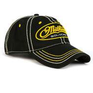 Mathews Black and Gold Cap