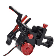 Ripcord ACE Micro-Adjust Drop Away Arrow Rest - Black and Red