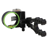 Black Gold Rush 5 Pin Sight - Black