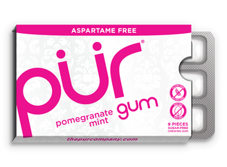 PUR Pomegranate Chewing Gum