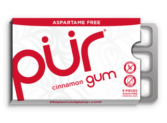 PUR Cinnamon Chewing Gum 12.6g