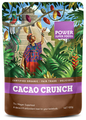 Power Super Foods Cacao Crunch Sweet Nibs 100g