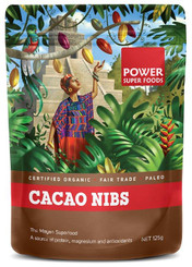Power Super Foods Cacao Beans - Origin 125g