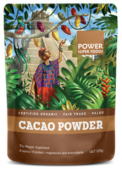 Power Super Foods Cacao Powder - Origin 125g