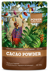 Power Super Foods Cacao Powder - Origin 250g