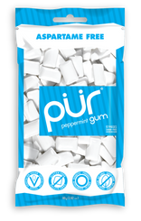 PUR Peppermint Gum 77g Bag