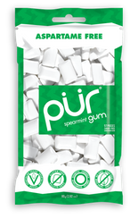 PUR Spearmint Gum 77g Bag
