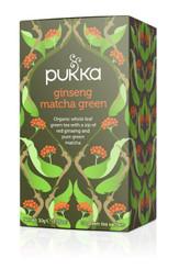 Pukka Herbs Ginseng Matcha Tea