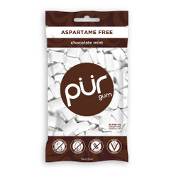 PUR Chocolate Mint Gum 77g Bag