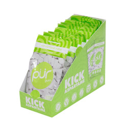 PUR Coolmint Gum 77g CARTON (12 PACKETS)
