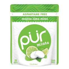 PUR Mints - Mojito Lime Mint CARTON (12 PACKETS)