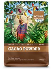 Power Super Foods Cacao Powder - Origin 500g