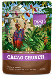 Power Super Foods Cacao Crunch Sweet Nibs 200g