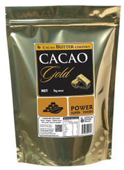 Power Super Foods Cacao GOLD Butter Chunks 1kg