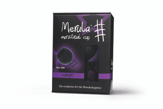 Merula Menstrual Cup - Midnight (Black) 38ml