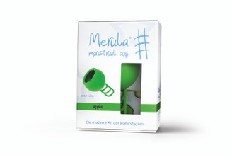 Merula Menstrual Cup - Apple (Green) 38ml