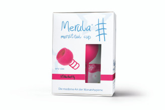 Merula Menstrual Cup XL Strawberry (Pink) 50ml