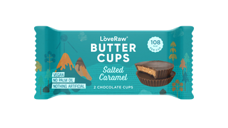 LoveRaw Butter Cups - Salted Caramel 2x17g